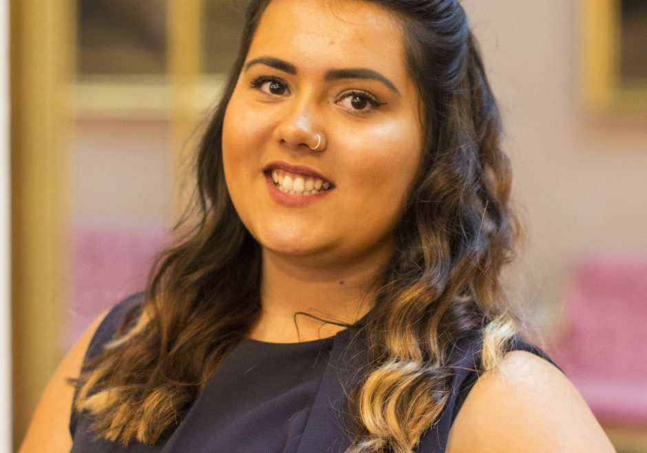 Ella Mckenzie 2016 Queen's Young Leader from the United Kingdom