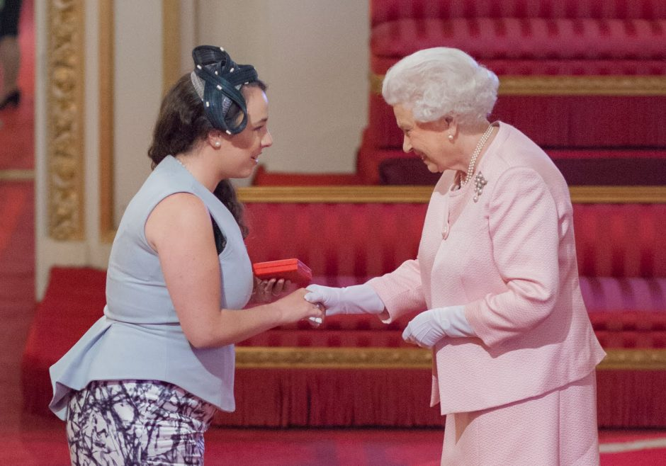 Emily Smith 2015 Queen's Young Leader from Australia