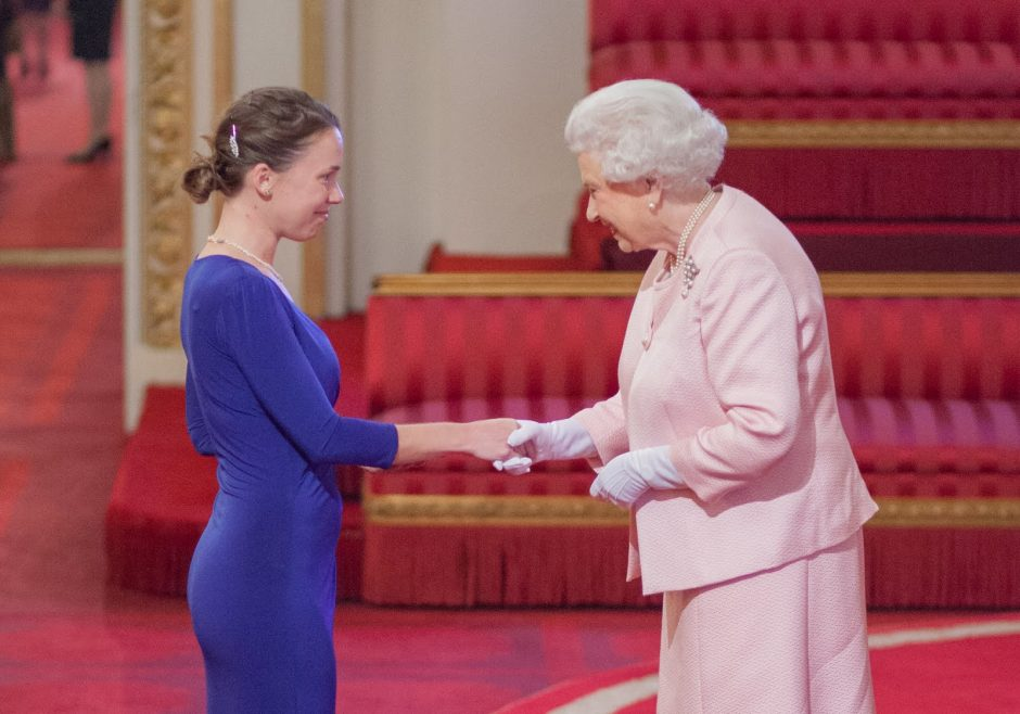 Emma Dicks 2015 Queen's Young Leader from South Africa