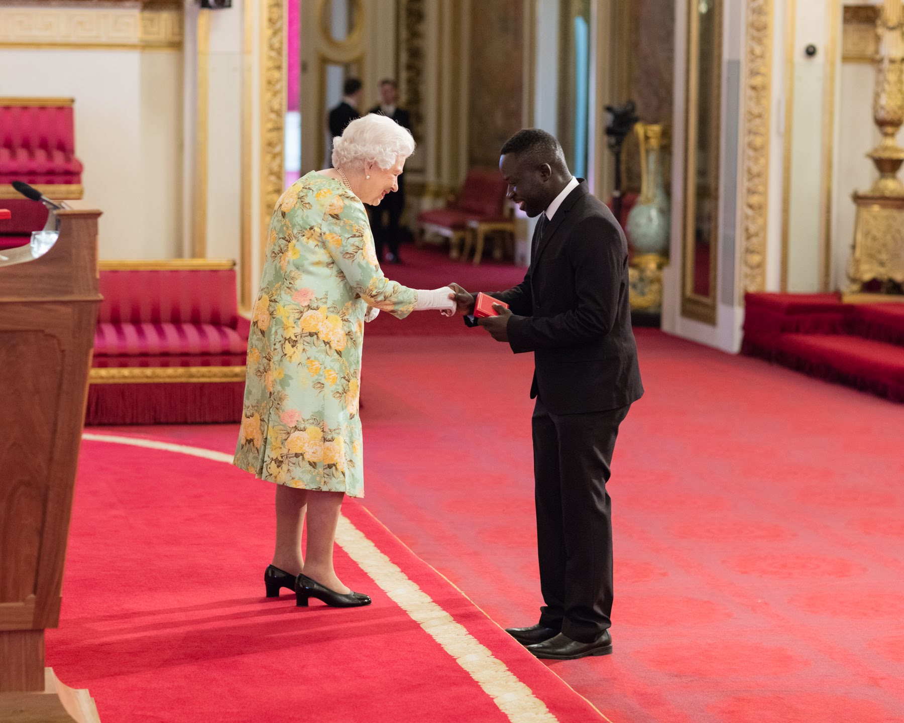 Gift Chansa 2018 Queen's Young Leader from Zambia