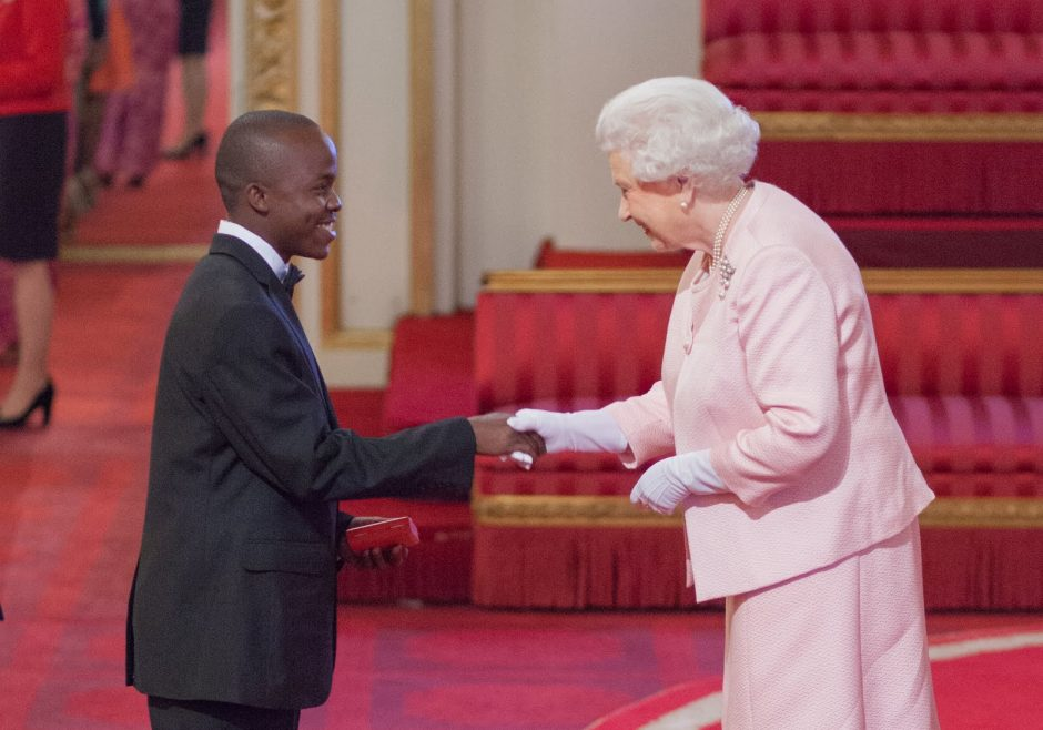 Given Edward 2015 Queen's Young Leader from Tanzania