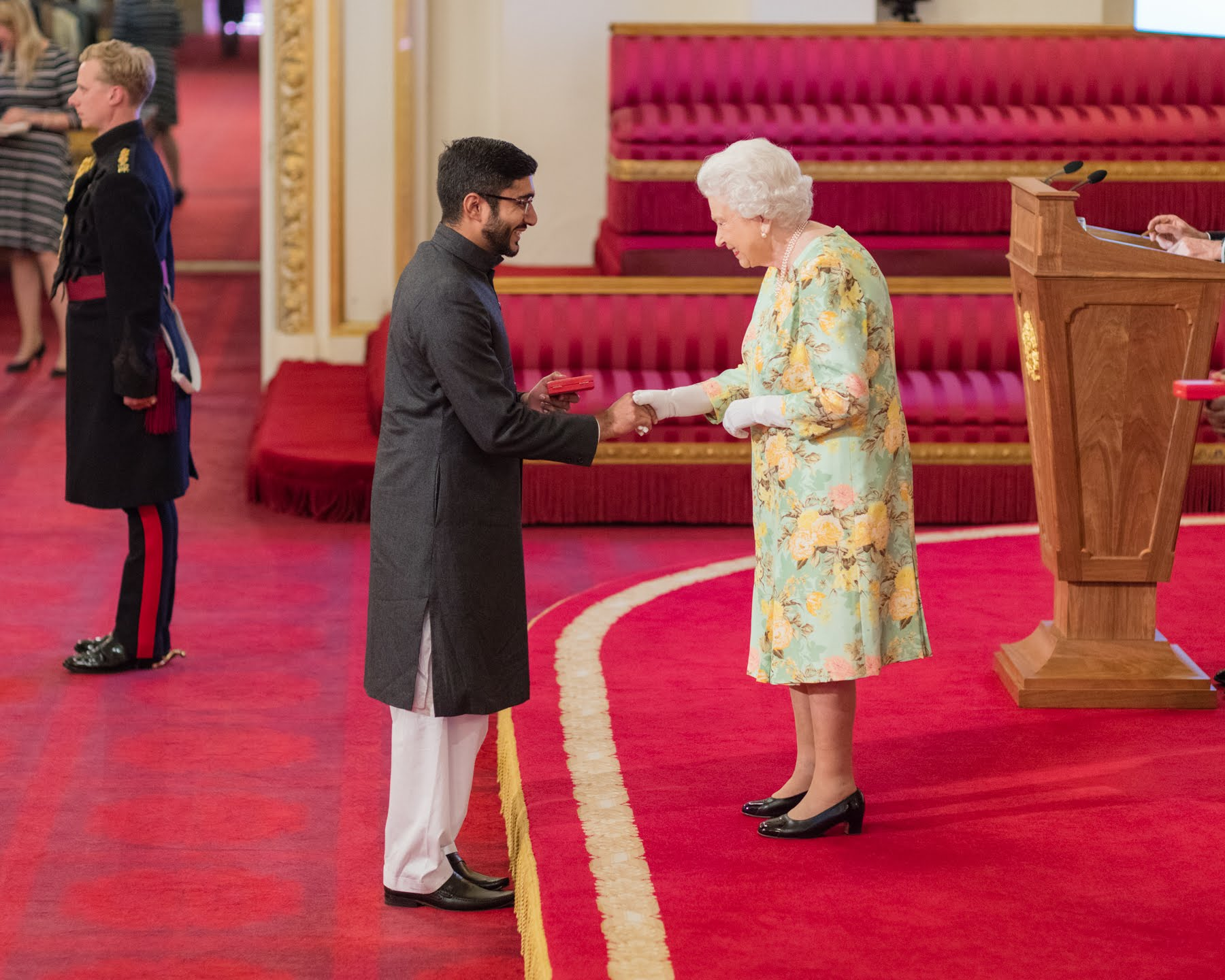 Haroon Yasin 2018 Queen's Young Leader from Pakistan