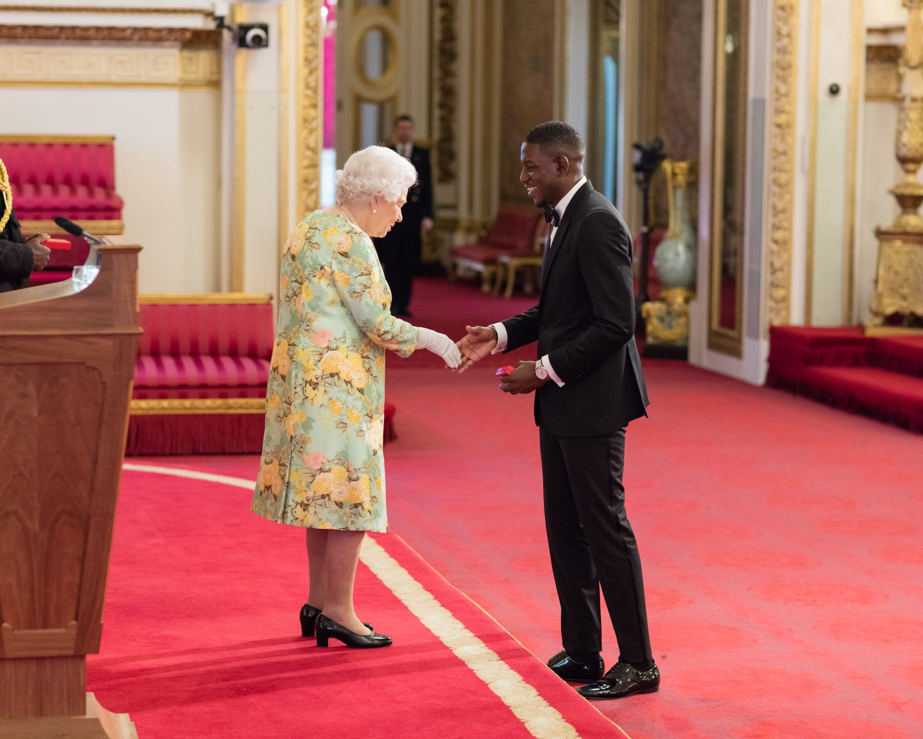 Harry Phinda 2018 QUeen's Young Leader from the United Kingdom