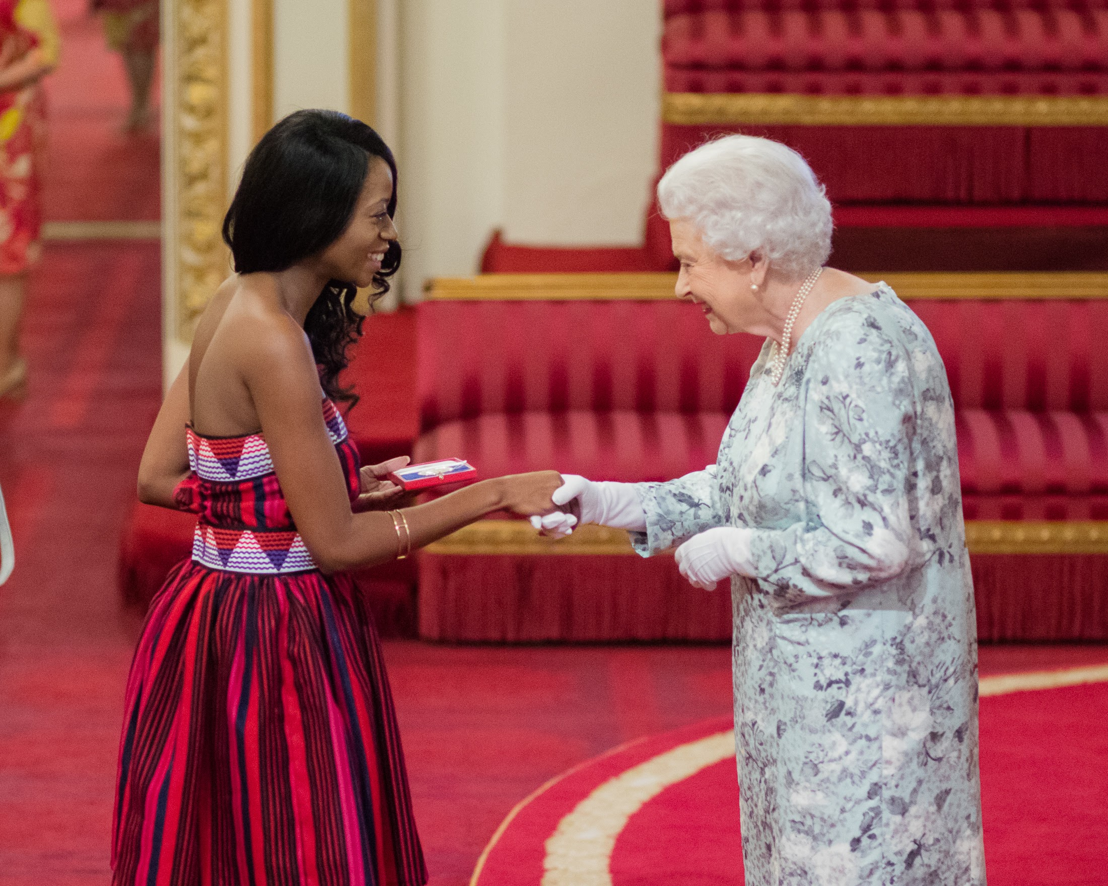 Hilda Nambili Liswani 2017 QUeen's Young Leader from Namibia