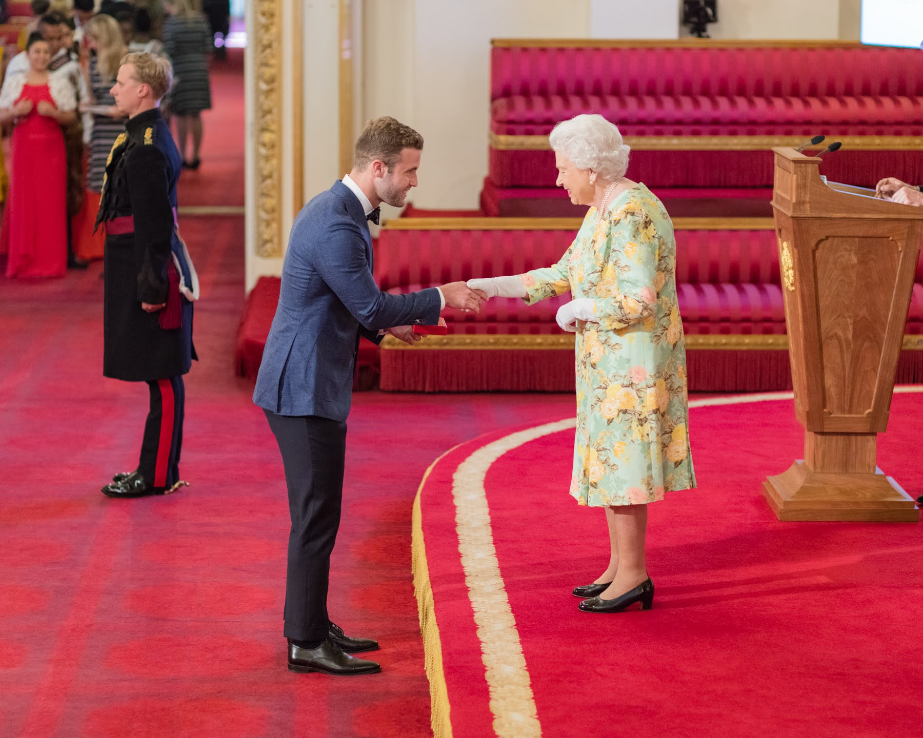Hunter Johnson 2018 Queen's Young Leader from Australia