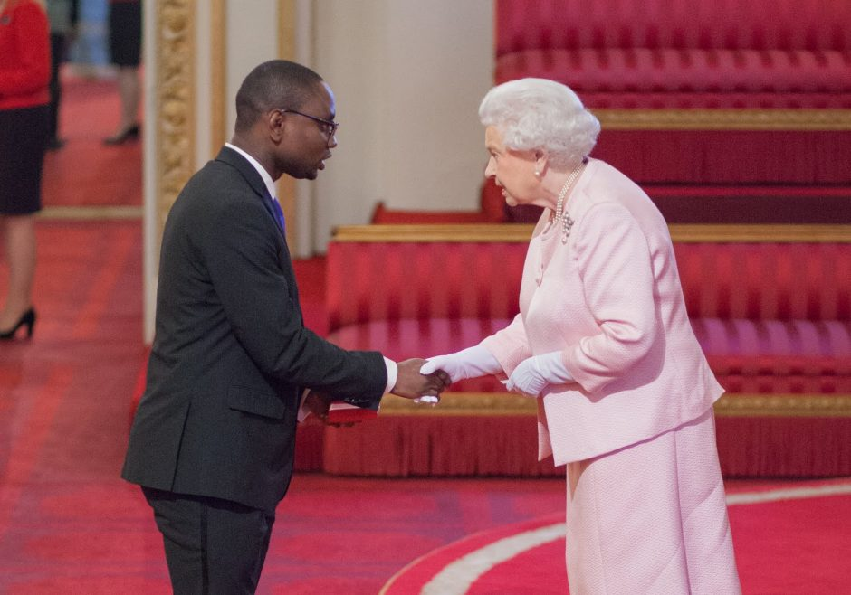 Isaiah Owolabi 2015 Queen's Young Leader from Nigeria