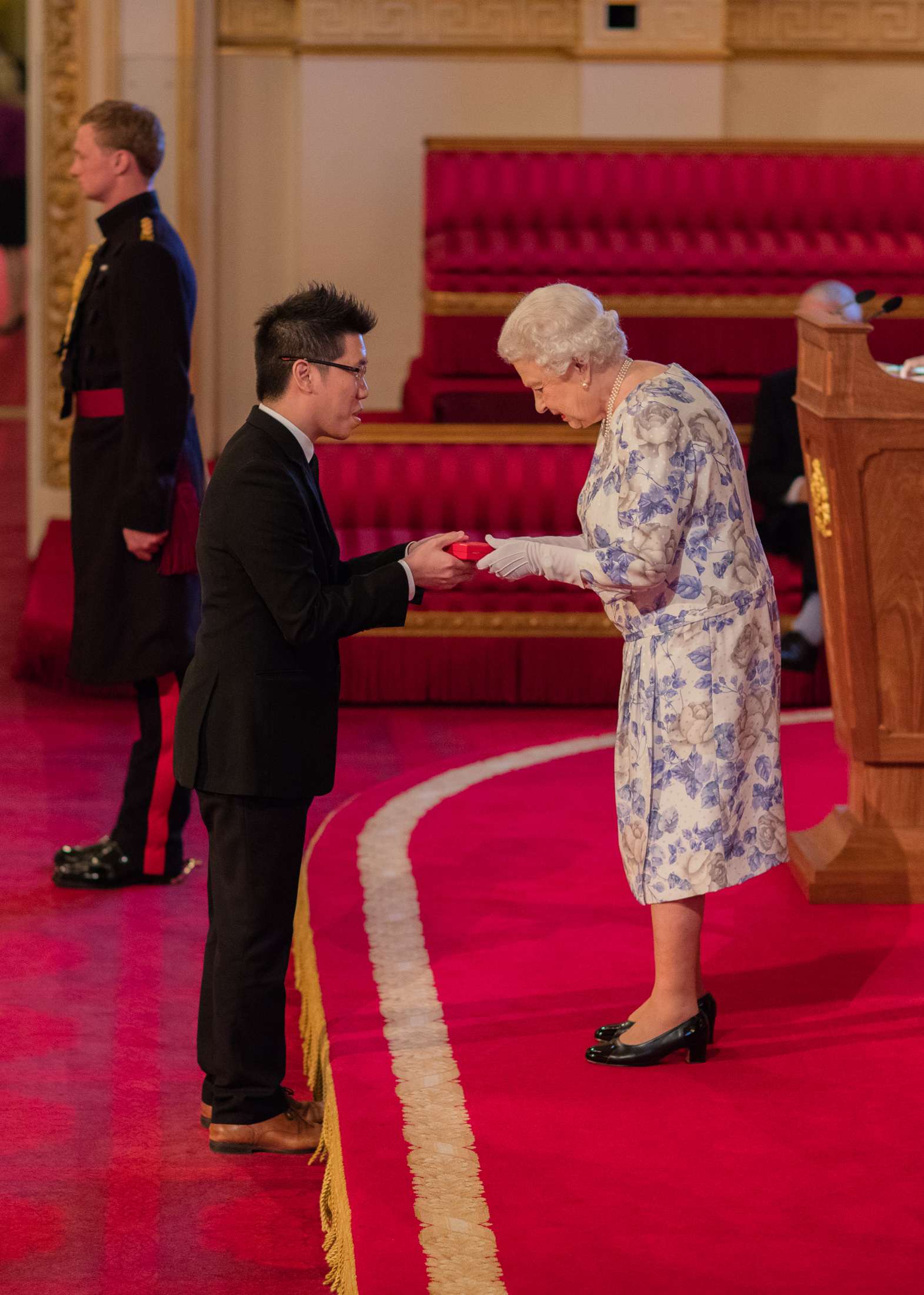 Mark Jin Quan Cheng 2016 Queen's Young Leaders
