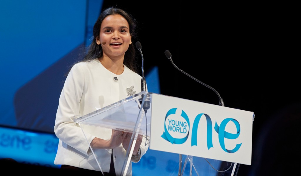 Queen's Young Leaders speak at One Young World